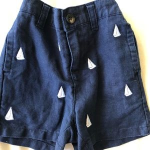 3 pairs Janie and Jack shorts